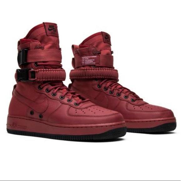 Nike Shoes Wmms Sf Air Force 1 High Cedar Poshmark